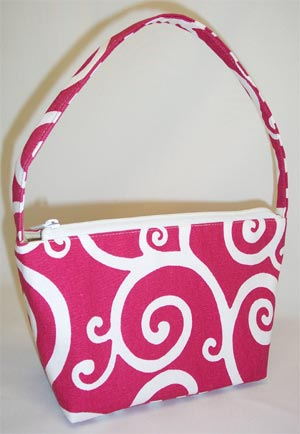 Carthwheel Hot Pink Handbag