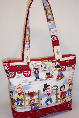 Lil' Cowpoke Cowboy Tote Bag