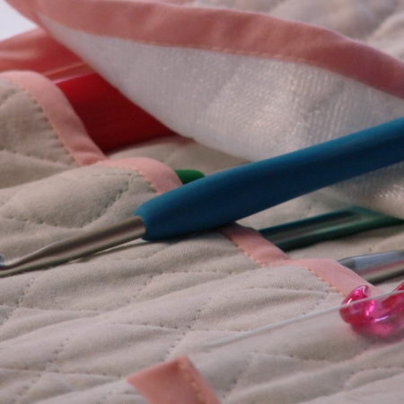 Crochet Knitting Needles Organizer