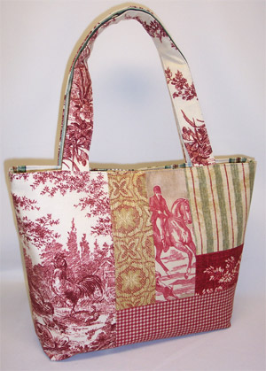 Country Life Patchwork Purse