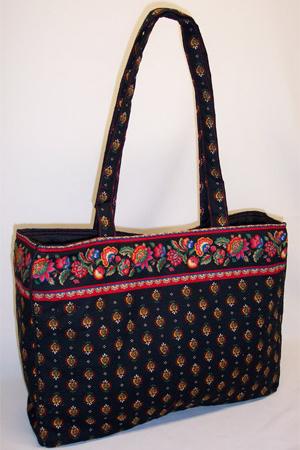 Red Floral Provence Weekender Bag