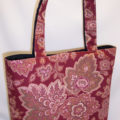 Henna Dark Red Tote Bag
