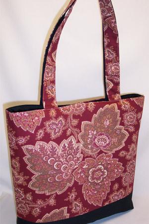 Henna Dark Red Tote Bag