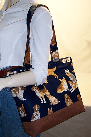 Show Dogs Print Purse