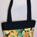 Sunflower Print Purse