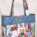 Patchwork Teddy Weekender Bag
