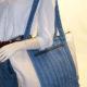 Denim Canvas Weekender Bag