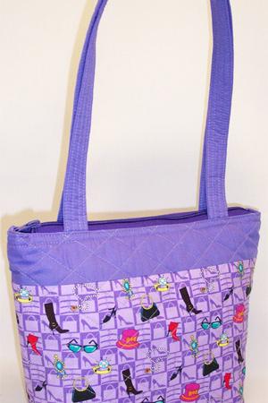 Lavender Lilac Purse