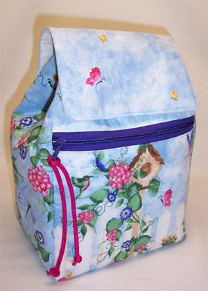 Morning Glories Backpack
