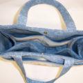 Blue Jean Teddy Bear Weekender Bag
