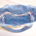Blue Jean Teddy Bear Bag