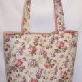Charmine Floral Print Tote Bag
