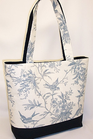 Sparrow Chelsea Toile Tote Bag