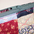 Country Patchwork Print Handbag