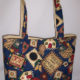 Country Living Print Tote Bag