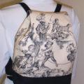 Covington Toile Black Backpack