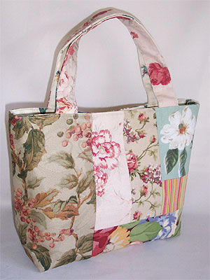 Floral Patchwork Purse