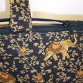 Lucky Elephant Print Tote Bag