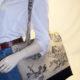 Provence Taupe Print Toile Tote Bag