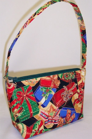 Holiday Gifts Print Handbag