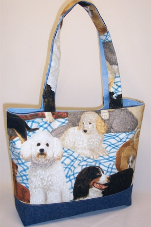 Best Friend Dog Tote Bag