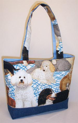 Best Friend Dog Tote Bag