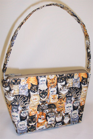 Kitties Cats Print Handbag