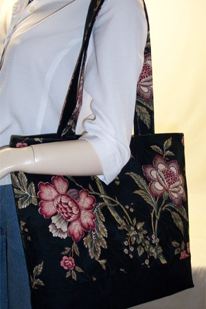 Mandalay Floral Bag