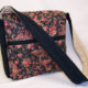 Floral Paisley Messenger Bag