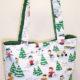 Peanuts Print Holiday Tote Bag