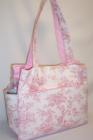 Central Park Pink Weekender Bag