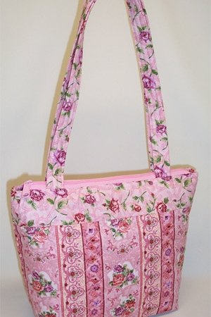 Pink Roses Purse