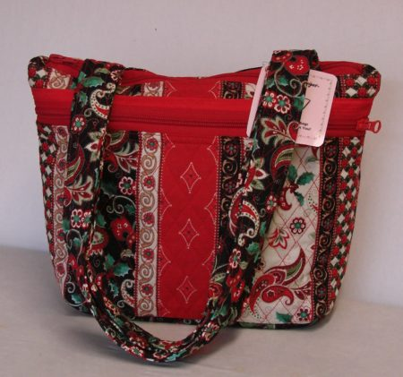 Festive Paisley Quilted Purse