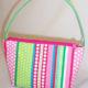 Ribbons Pink Handbag