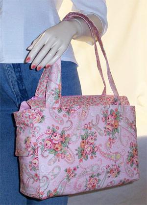 Pink Roses Handbag