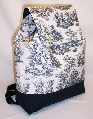Rustic Life Toile Backpack