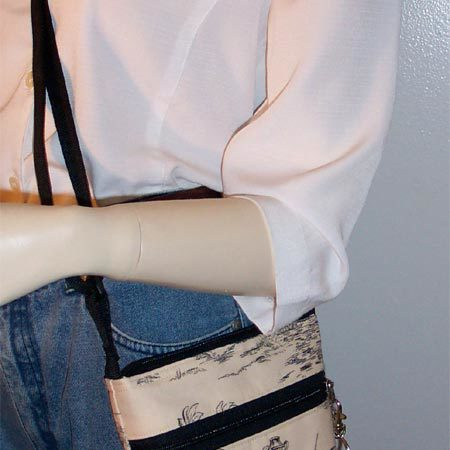 Covington Toile Purse