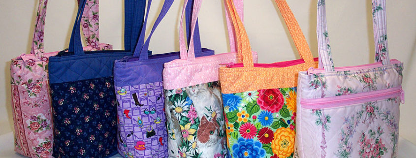 PaulJulia Designs Quilted Purses